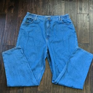 L.L. Bean High Waisted Mom Jeans